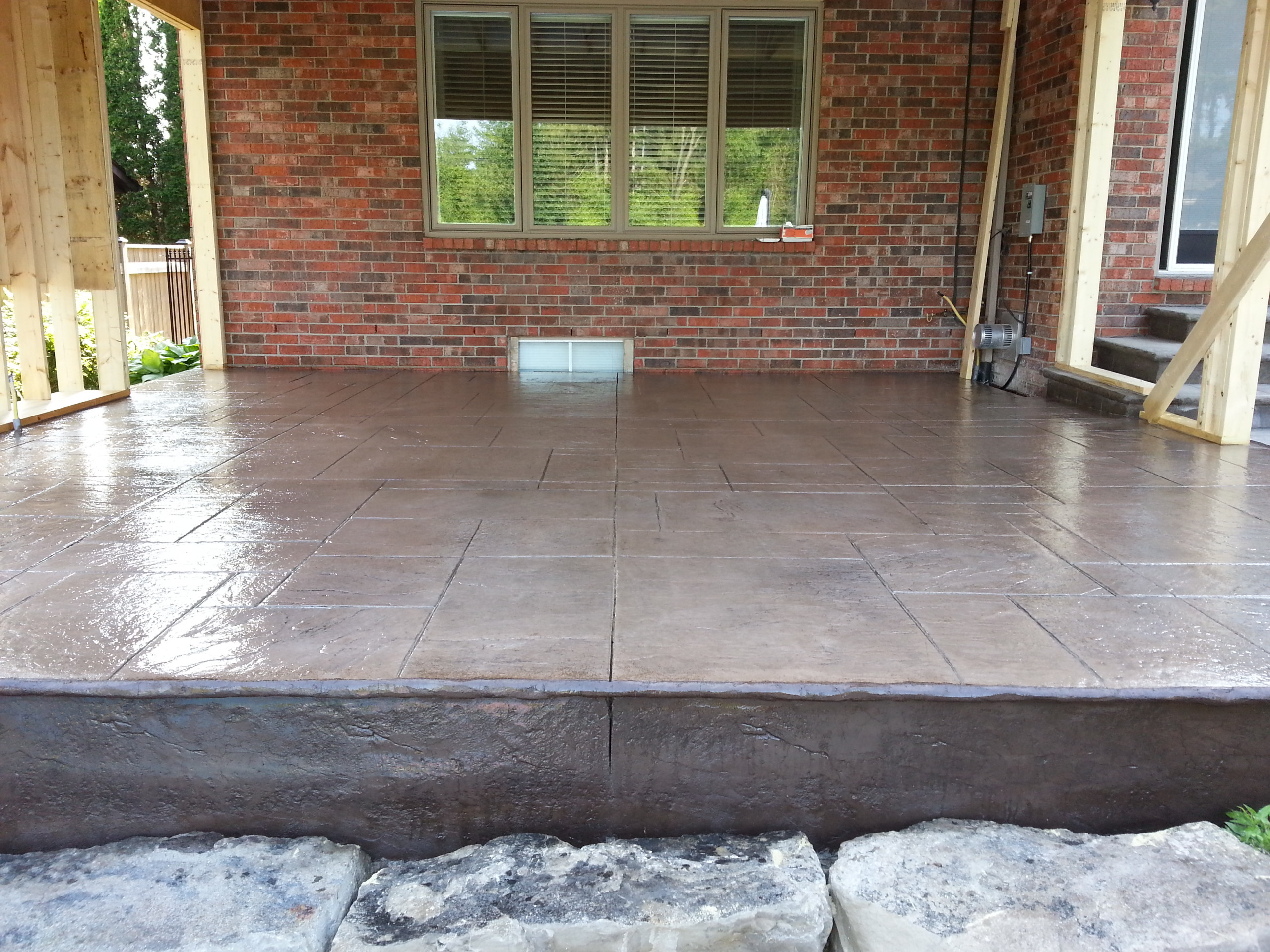 house paving and window